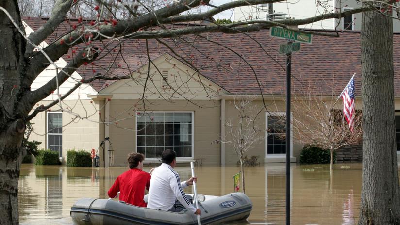 Un hipotético huracán que toque tierra dos veces podría causar inundaciones catastróficas en EE.UU.