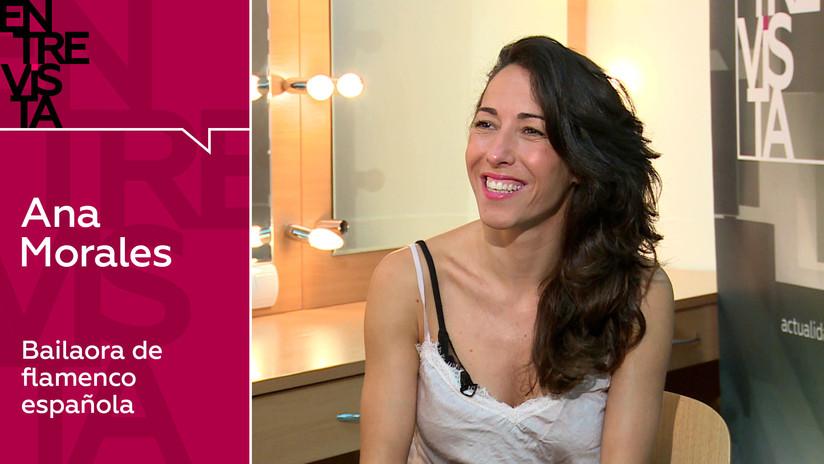 """Bailaora de flamenco Ana Morales: """"Tengo la certeza de que todo el mundo puede bailar en esta vida"""""""