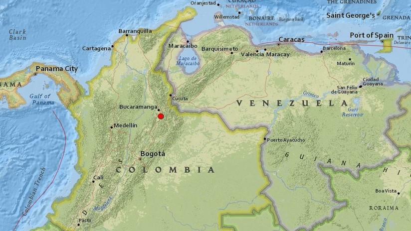 Colombia: Se registra un sismo de magnitud 5,2 sentido en varias partes del país
