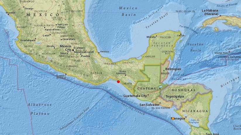 Se registra un sismo de magnitud 5,0 en el sur de México