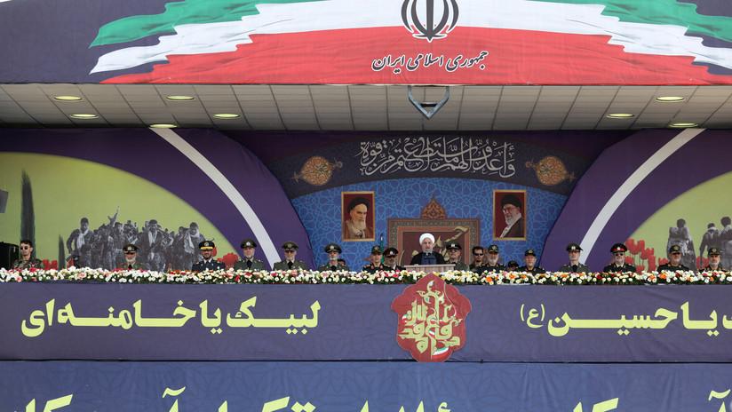 VIDEO: Teherán exhibe su poderío militar durante el desfile anual del Ejército