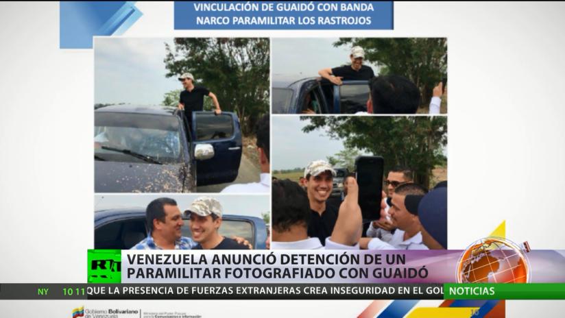 Venezuela revela más fotos que vinculan a Juan Guaidó con los narco paramilitares colombianos