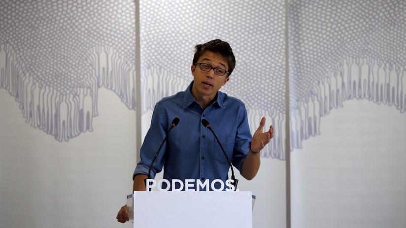 Íñigo Errejón, exdirigente de Podemos, encabezará una candidatura para las elecciones generales de España