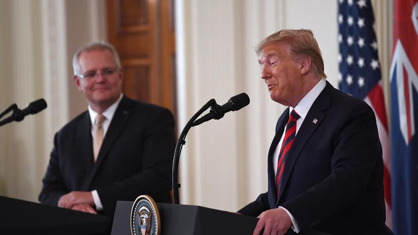 """""""Nos vamos a Marte"""": Trump anuncia el próximo objetivo de la NASA y dice que la Luna """"no es tan emocionante"""""""