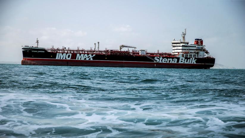 Irán concluye la base legal para la liberación del petrolero británico Stena Impero