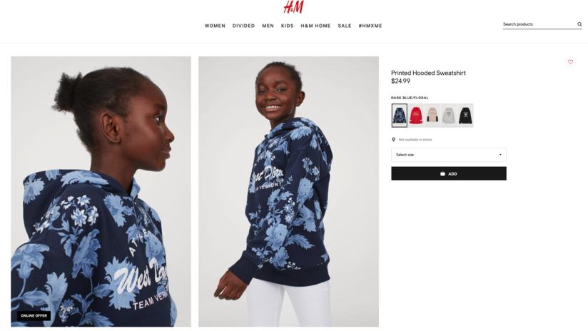 "Una foto ""natural"" de una niña negra despeinada vuelve a colocar a H&M en el centro de la polémica"