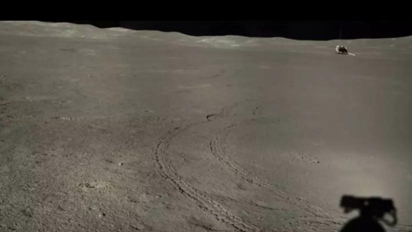 China revela nuevas fotos del lado oscuro de la Luna que muestran una misteriosa sustancia espacial