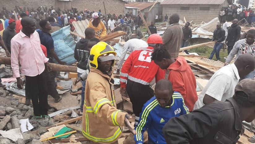El derrumbe de un aula provoca al menos 7 alumnos muertos en una escuela de Kenia