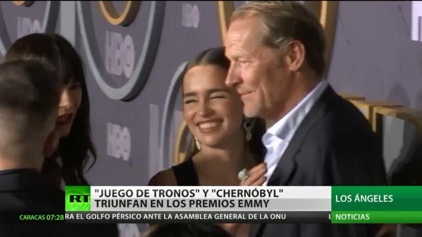 'Juego de tronos' y 'Chernobyl' triunfan en los premios Emmy