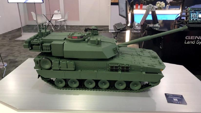 Presentan Griffin II, el futuro carro de combate ligero del Ejército de EE.UU.