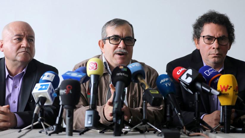 """Exjefes de las FARC admiten su """"responsabilidad ética y política"""" por los secuestros en Colombia"""