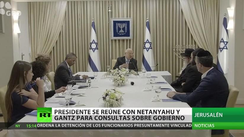 El presidente de Israel convoca a Netanyahu y Gantz para intentar formar un Gobierno
