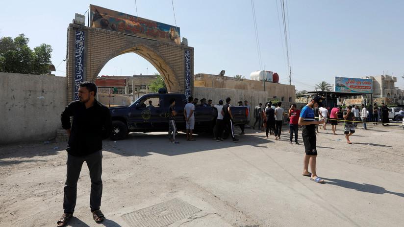 Dos misiles caen en Bagdad y activan las alarmas antiaéreas cerca de la Embajada de EE.UU.