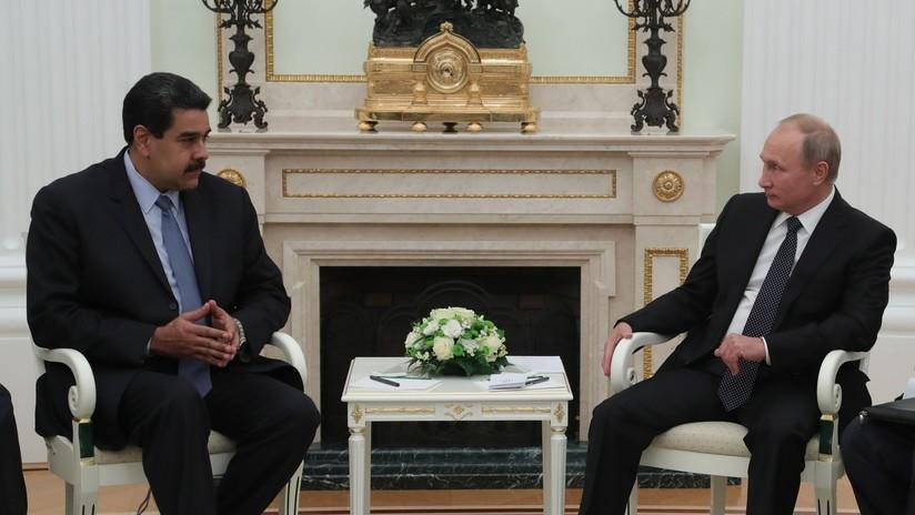 Maduro llega a Moscú para discutir con Putin las injerencias externas en los asuntos de sus países