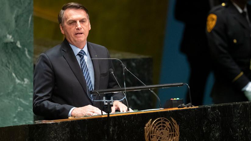 """Bolsonaro niega que la Amazonia sea el 'pulmón del planeta': """"Es una falacia decir que es patrimonio de la Humanidad"""""""