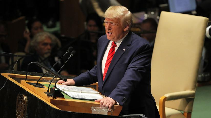 Trump afirma que quiere paz y armonía (luego de cargar contra China, Venezuela, Cuba e Irán)