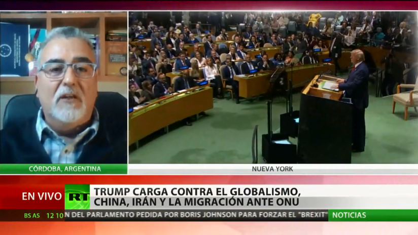 """Experto: """"Hay un nuevo proceso de globalización mundial que no lo administra Estados Unidos"""""""