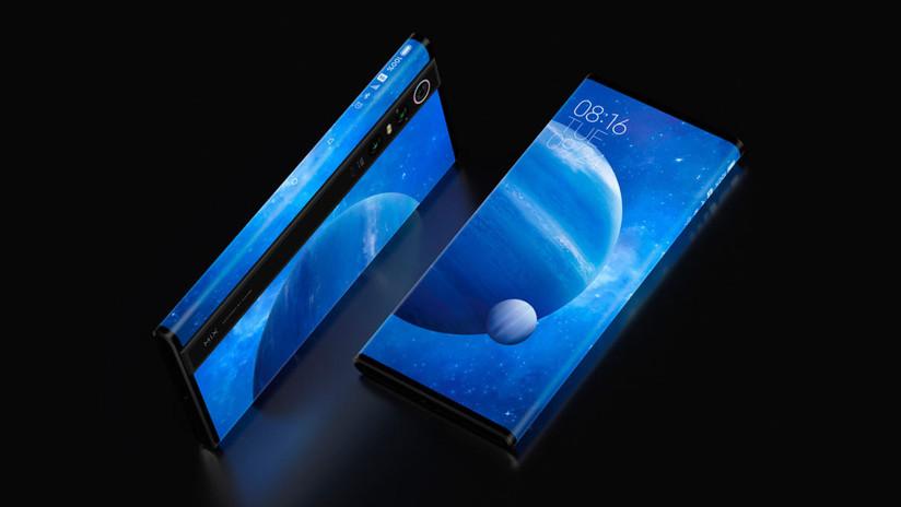 FOTOS, VIDEO: Xiaomi presenta un teléfono que es casi todo pantalla
