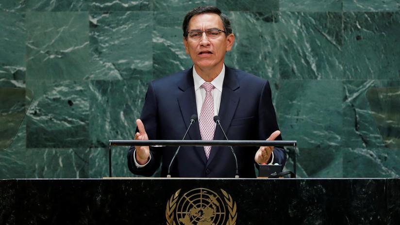 """VIDEO: El presidente de Perú pide en la ONU una """"cruzada"""" contra la corrupción"""