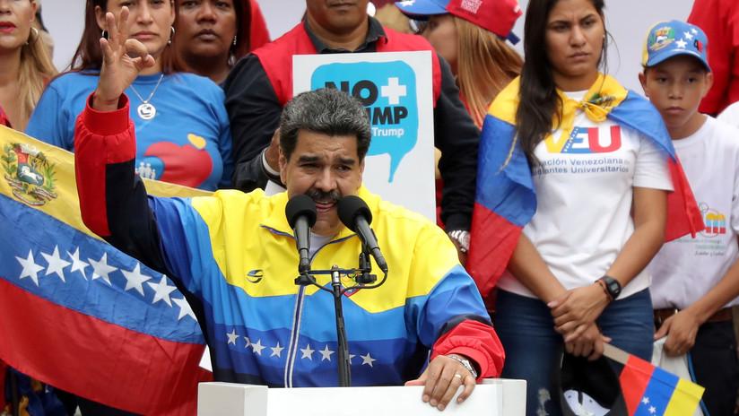"""Maduro: """"Es una vergüenza que EE.UU. tenga siete bases militares en Colombia apuntando contra Venezuela"""""""