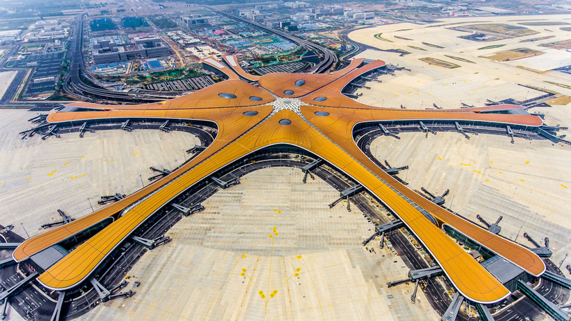 'Diseño de ave fénix': así luce el nuevo megaaeropuerto de Pekín