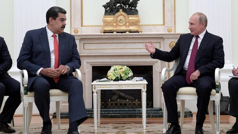 Putin en reunión con Maduro: Rusia apoya el legítimo Gobierno de Venezuela y el diálogo con la oposición