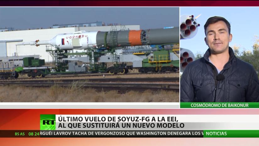 Baikonur tiene todo listo para el último vuelo del cohete Soyuz FG