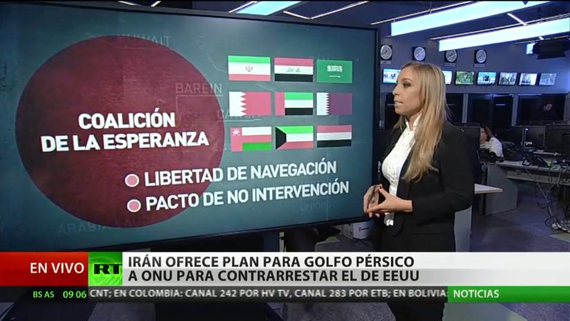Irán ofrecerá su plan de seguridad para golfo Pérsico ante la ONU