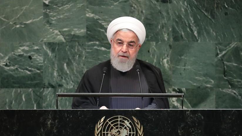 """Rohaní en la ONU: """"La región del golfo Pérsico está al borde de colapso y un solo error de cálculo puede atizar un inmenso incendio"""" (VIDEO)"""