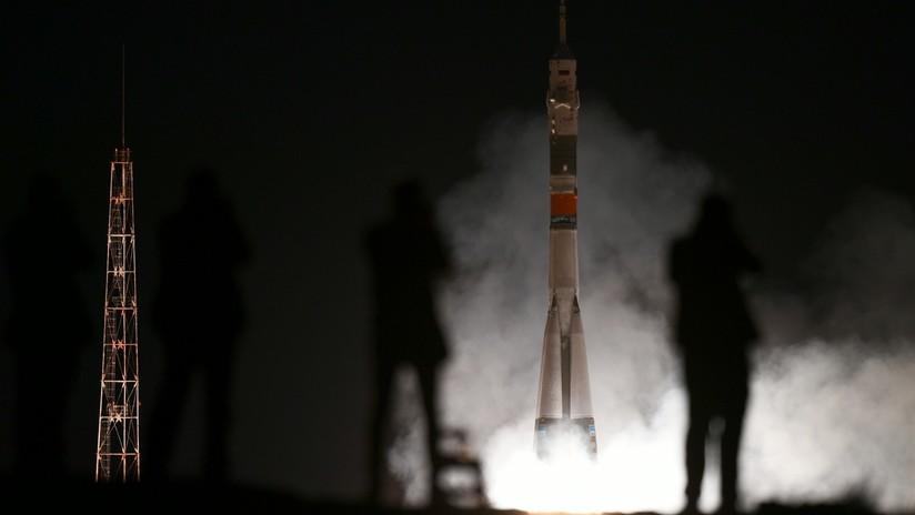 VIDEO: El cohete ruso Soyuz FG despega rumbo a la EEI con el primer astronauta emiratí en viajar al espacio