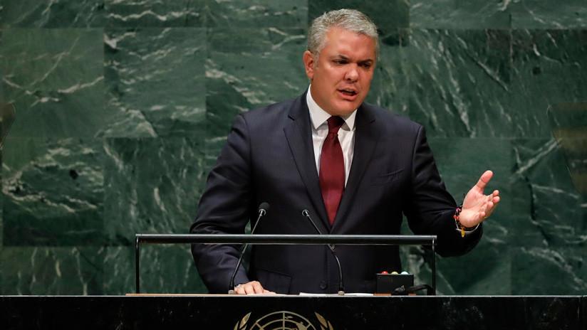 El presidente de Colombia pide continuar presión contra Nicolás Maduro