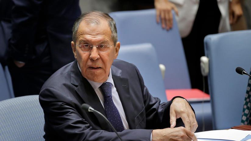 """Lavrov tras la denegación de visas de EE.UU. a la delegación rusa: """"Habría que plantear el traslado de la sede de la ONU de Nueva York a Sochi"""""""