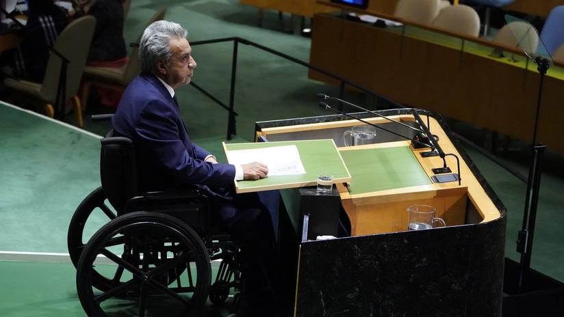 Moreno llamó a la ONU a atender el cambio climático, la migración venezolana y las amenazas a la paz