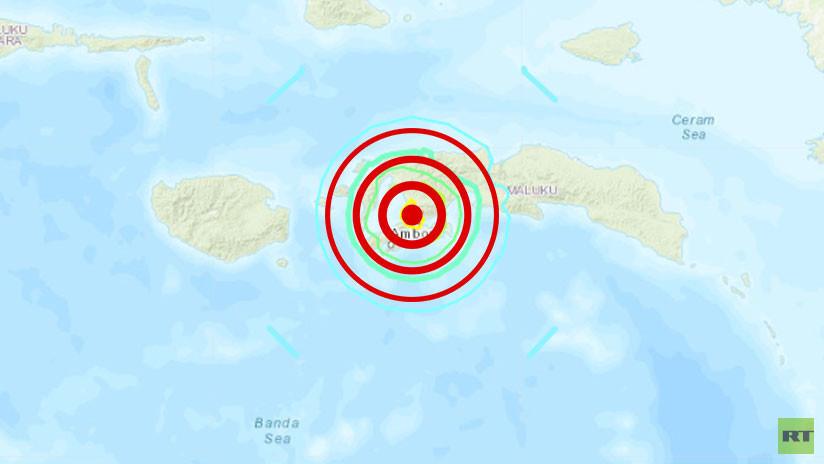 Un sismo de magnitud 6,5 se registra en Indonesia