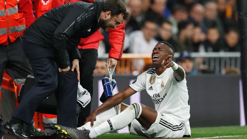 VIDEO: El delantero Vinicius Junior del Real Madrid marca su primer gol de esta temporada y estalla en llanto