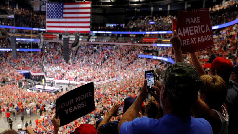 La campaña de reelección de Trump recaudó un millón de dólares en tres horas después del anuncio sobre la investigación de 'impeachment'