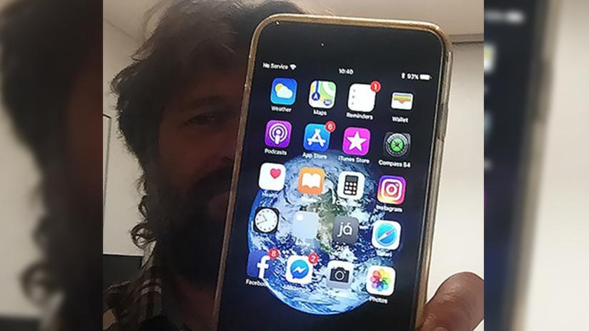Se le cae el iPhone desde una avioneta y lo recupera 13 meses después (¡operativo y con el video de la caída grabado!)