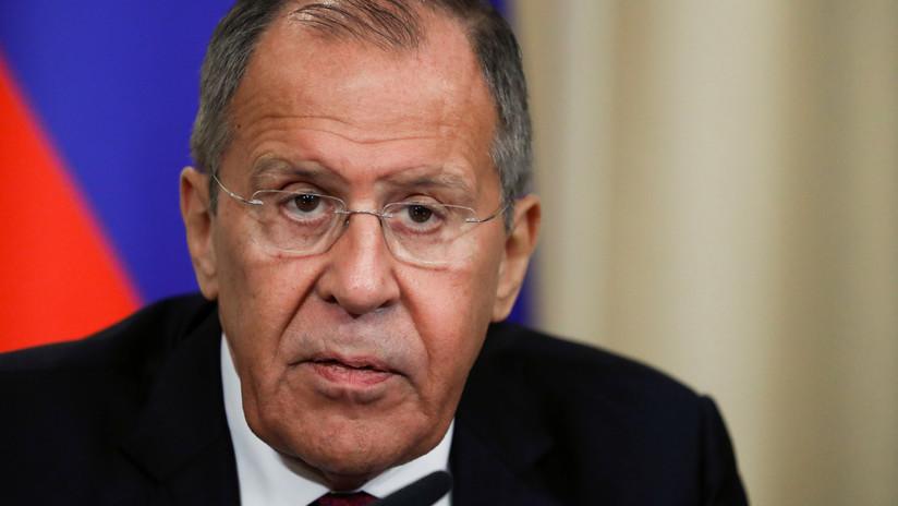 """""""Pura mentira"""": Lavrov tacha de """"despreciable"""" la difusión por parte de la oposición venezolana de rumores sobre su reunión con emisarios de Guaidó"""
