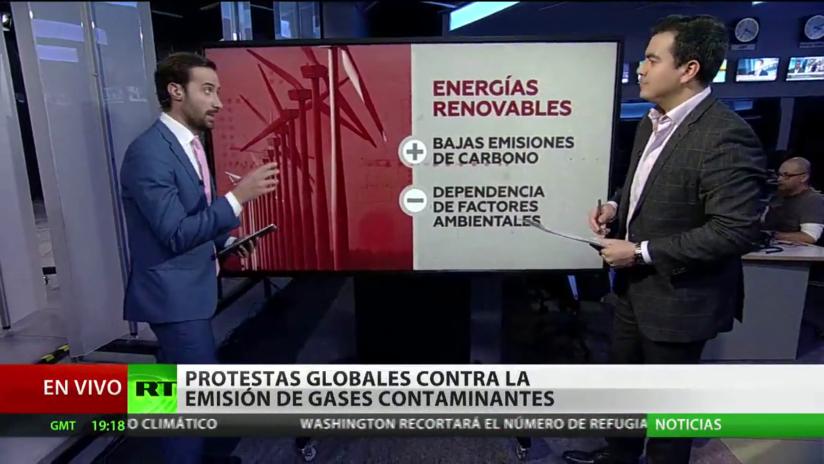 Estudiantes protestan a escala mundial contra la crisis climática