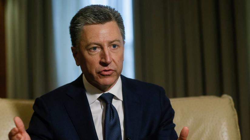Reportes: El representante especial de EE.UU. para Ucrania, Kurt Volker, dimite en medio del escándalo en torno a la llamada entre Trump y Zelenski