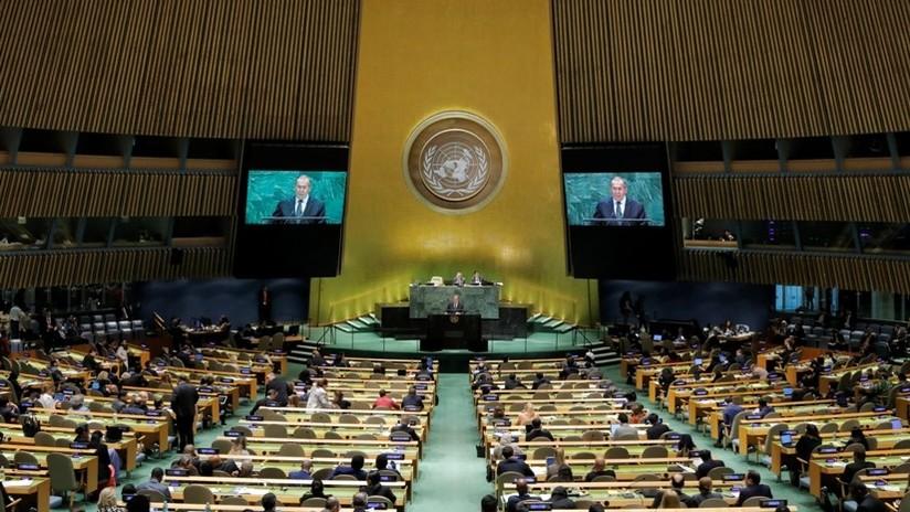 """Rusia ante la ONU: """"Es difícil para Occidente aceptar que su dominio en los asuntos mundiales se está desvaneciendo"""""""
