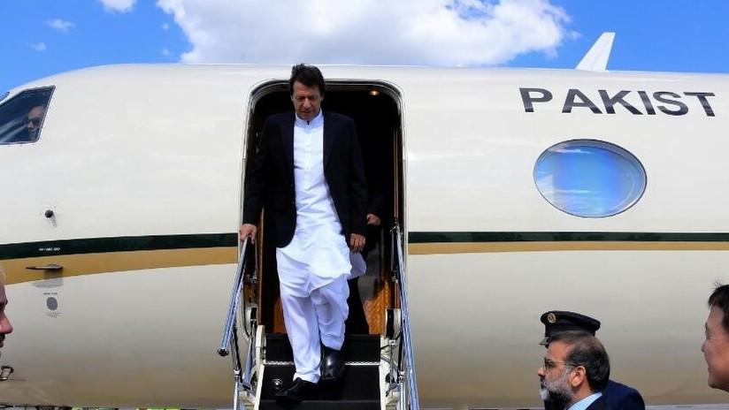 El avión del primer ministro de Pakistán retorna a Nueva York y aterriza de emergencia