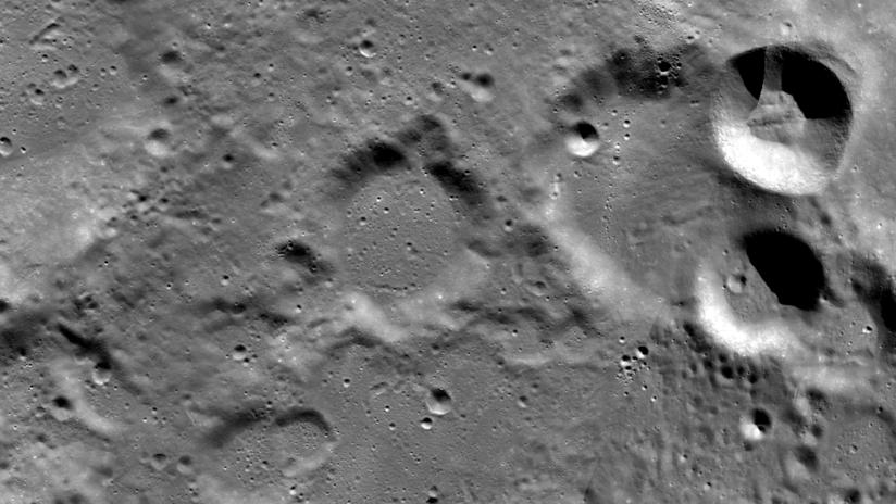 FOTOS: La NASA publica imágenes del sitio donde debía alunizar la fracasada misión india Chandrayyan-2
