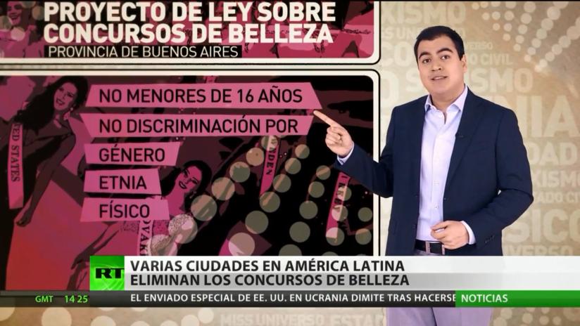 Eliminan los concursos de belleza en diferentes ciudades de América Latina