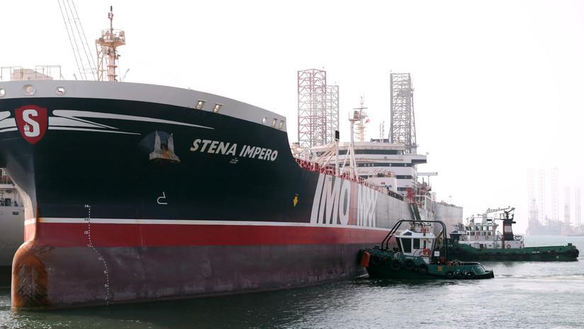 El Stena Impero llega a Dubái después de 10 semanas de retención en aguas de Irán