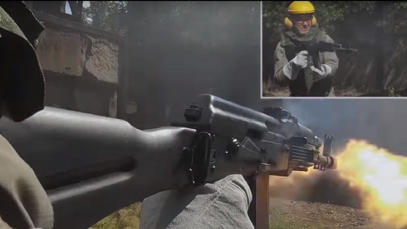 """VIDEO: Kaláshnikov somete a """"una prueba extrema"""" su AK-74M y revela cuántos disparos puede hacer sin parar"""