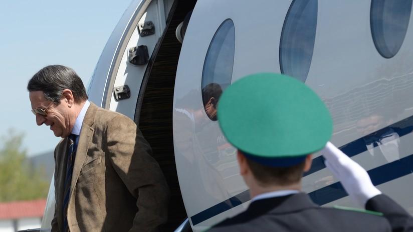 El avión del presidente de Chipre regresa a Nueva York por motivos de seguridad