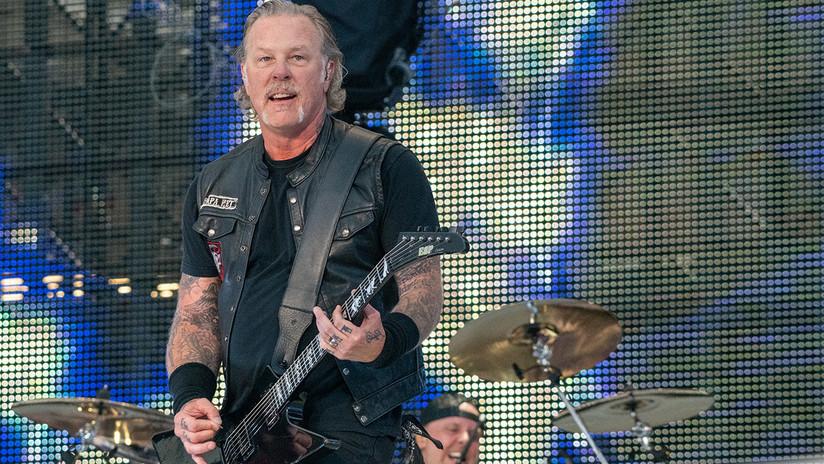 Metallica suspende su gira mundial tras el ingreso de su vocalista a un centro de desintoxicación