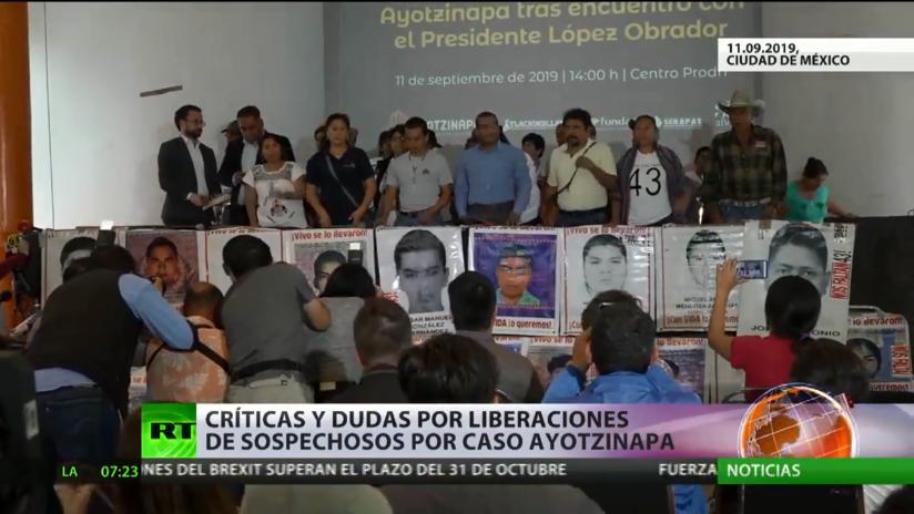 México: Críticas y dudas por liberaciones de sospechosos por el caso Ayotzinapa