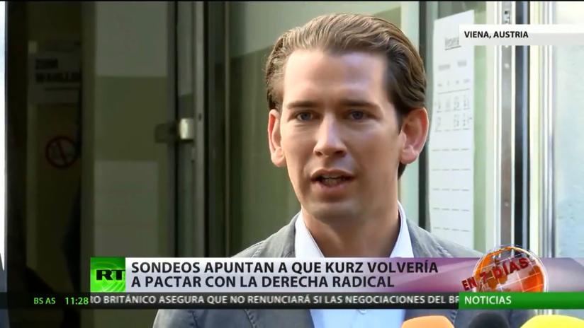 Elecciones en Austria: los sondeos apuntan como favorito a Kurz